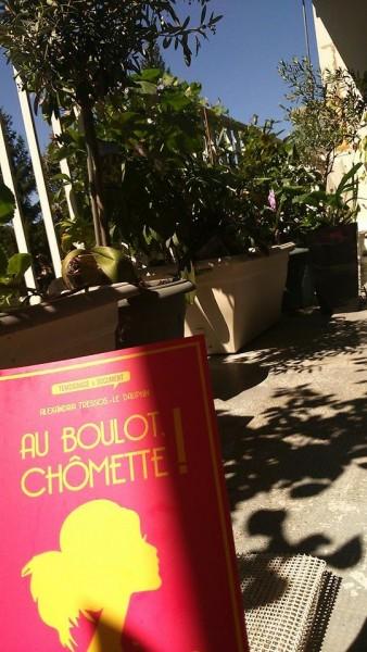 Chômette sur une terrasse à Annecy