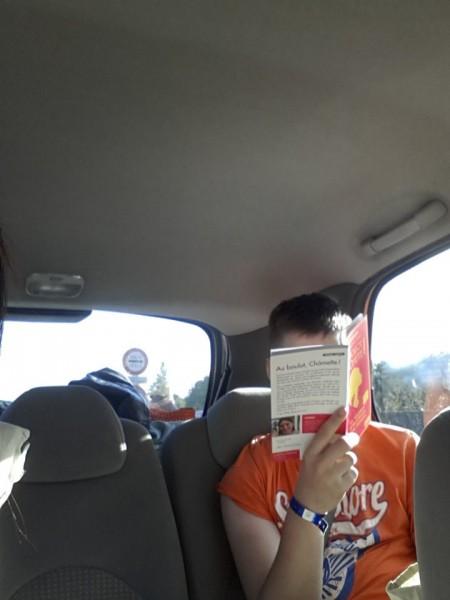 Chômette en voiture