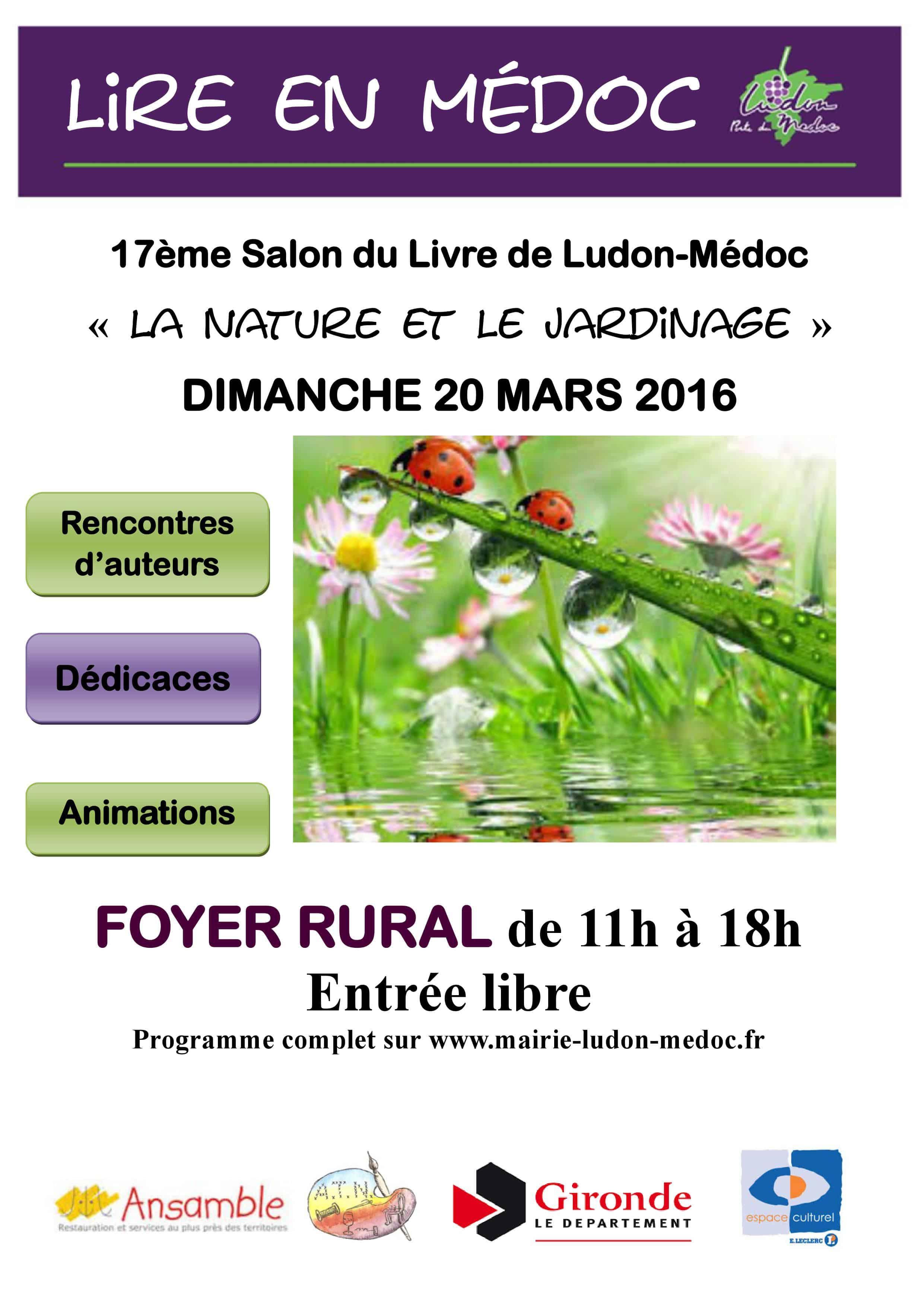 salon du livre de Ludon-Médoc