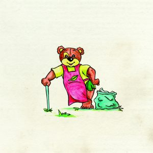 Matéli ours dans livre jeunesse