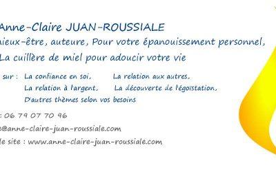 ANNE CLAIRE JUAN coach