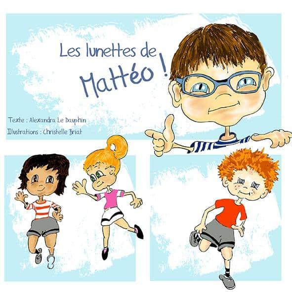 livre jeunesse sur les lunettes
